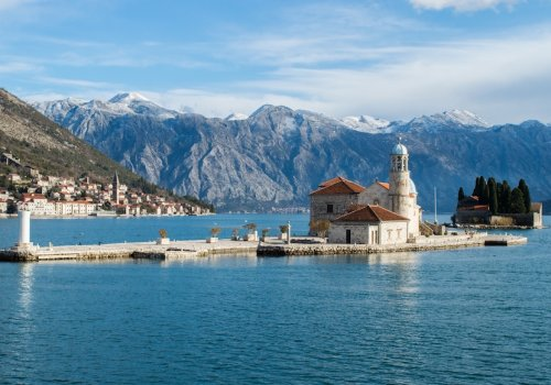 The beautiful Kotor bay