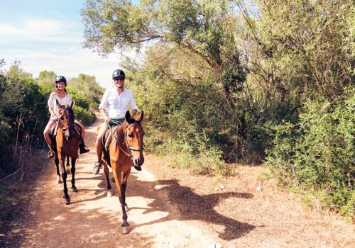 True rest for body and soul Horseback Riding