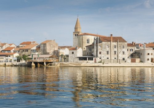 Luxury of renaissance and baroque city of Umag