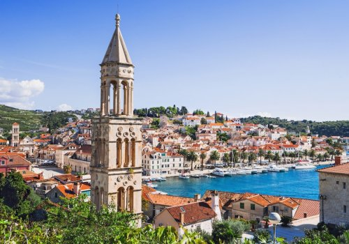 Islands of the Dalmatian coast